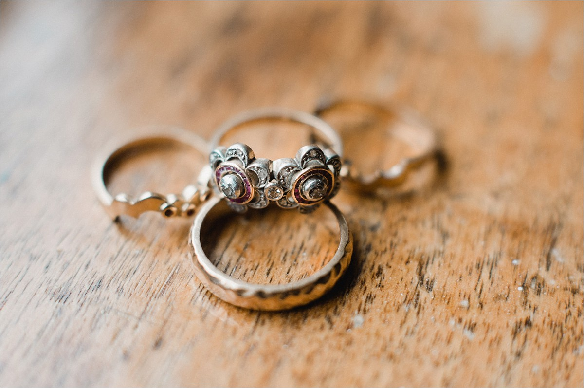 Vintage Rings, Prairiewood Vow Renewal Manhattan KS by Bethany Meysenburg