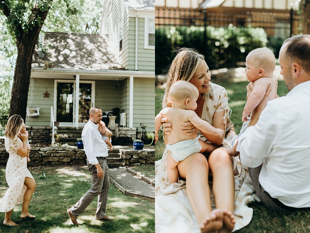 in-home family session, manhattan ks family photographer, lifestyle family photographer overland park ks