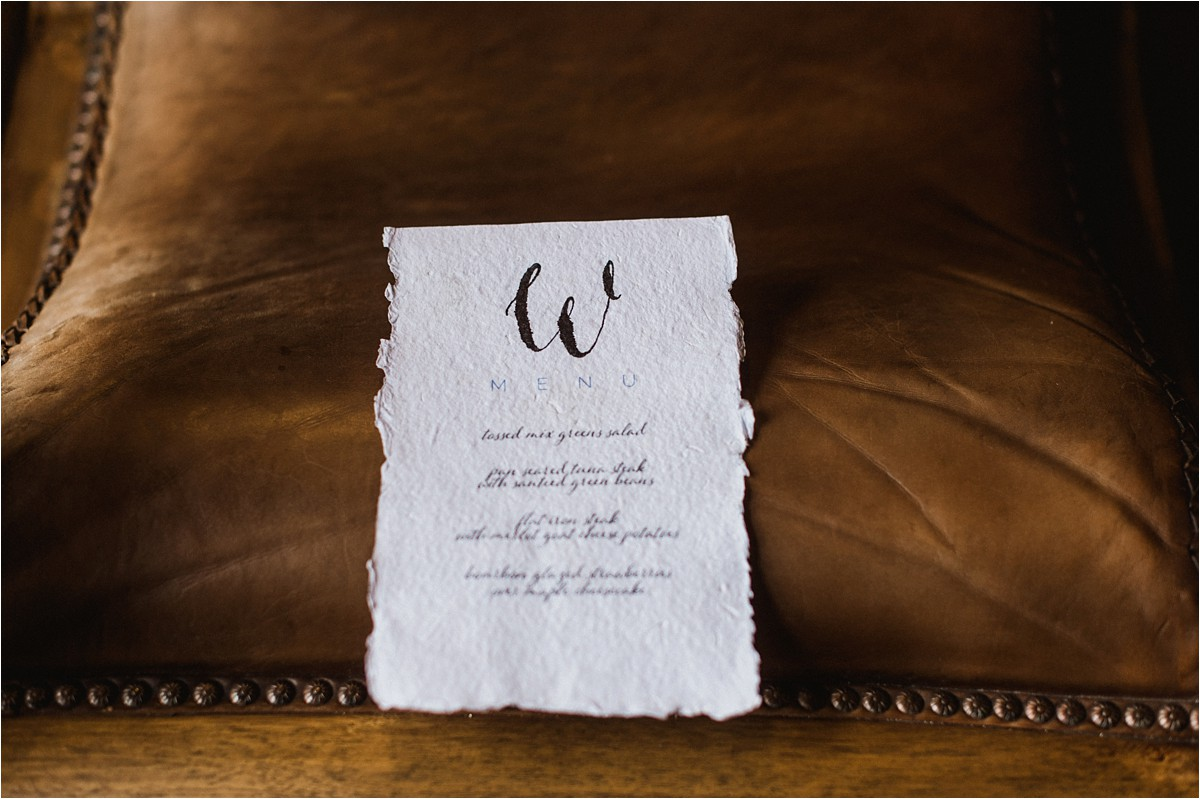 Hand Lettered Invitations for Prairiewood Vow Renewal Manhattan KS by Bethany Meysenburg