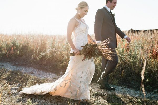Vineyard Hilltop Wedding