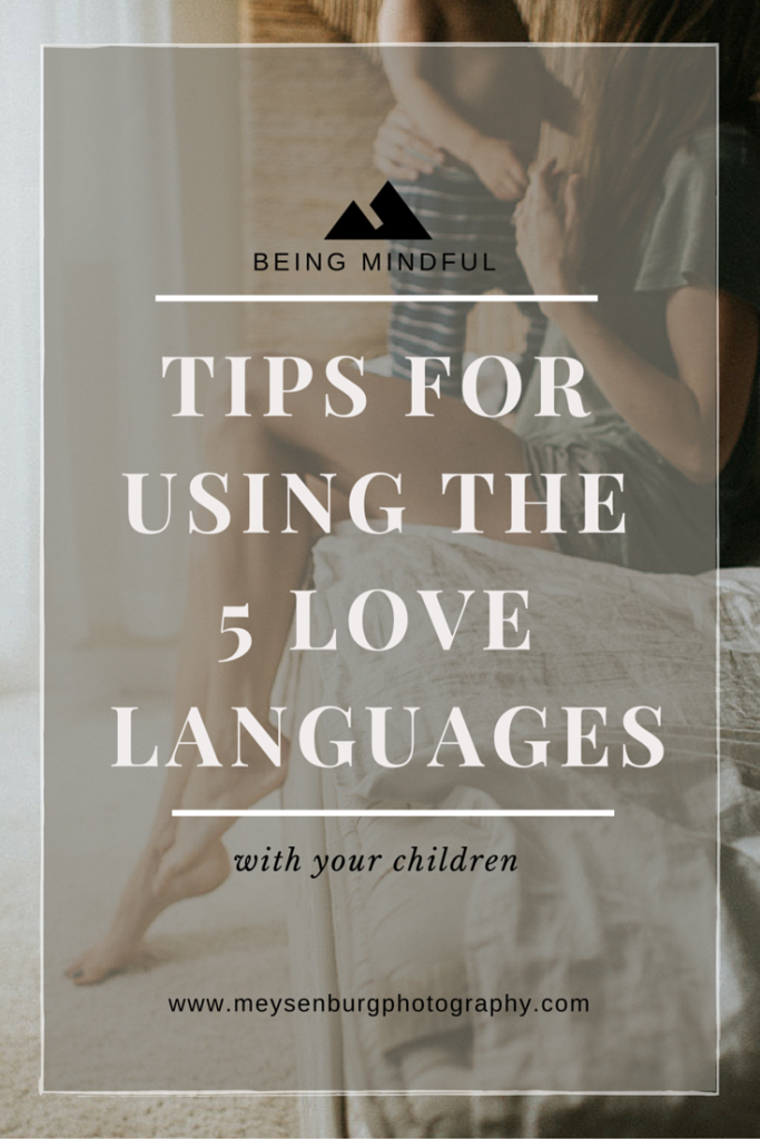 five love languages for children, Bethany Meysenburg