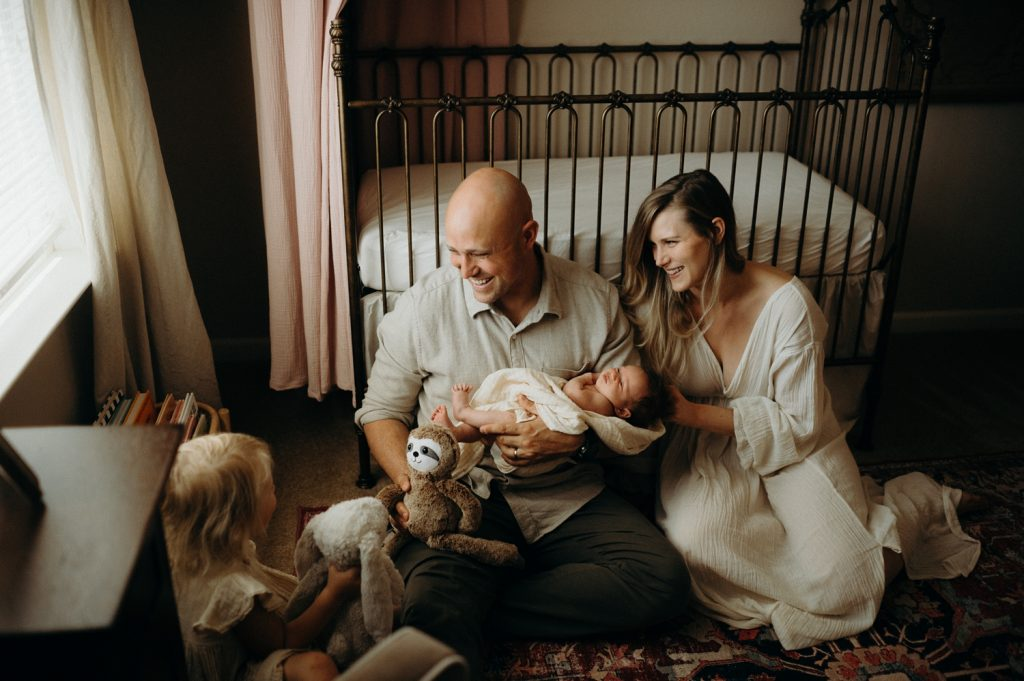 In-Home Newborn Sessions, Photographing Newborn at home